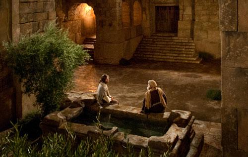 الرب يسوع يلتقي نيقوديموس