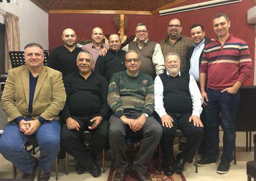مجمع الكنائس الانجيلية يختار أصحاب الوظائف