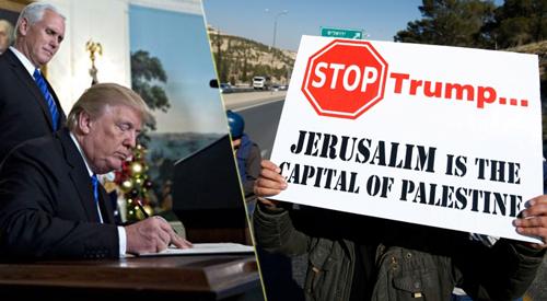 اورشليم لاسرائيل ام القدس للفلسطينيين