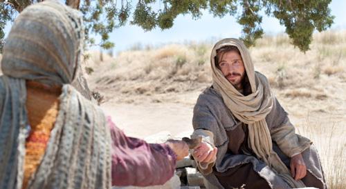 المسيح والسامرية