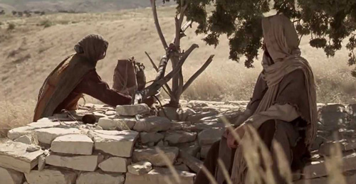 يسوع يتحدث مع السامرية عند بئر يعقوب