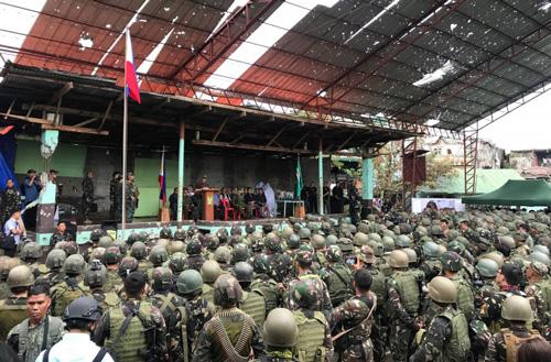 الرئيس الفلبيني: انتصرنا على داعش