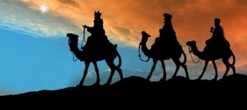 المجوس يبحثون عن يسوع الملك