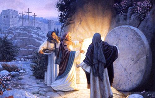 القبر فارغ لان المسيح قام من بين الاموات