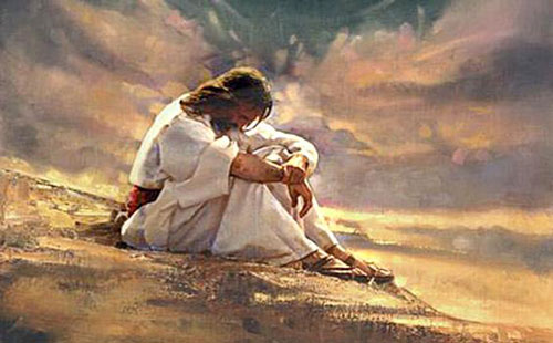 بكى يسوع
