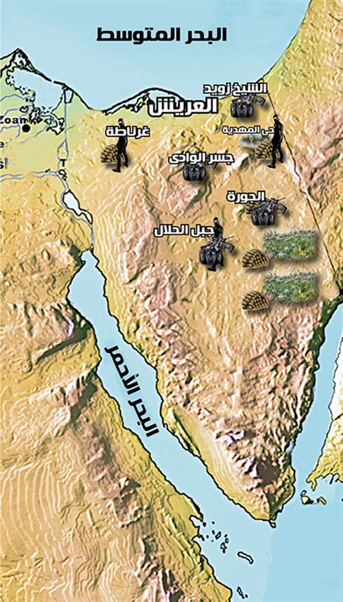 جبل الحلال في وسط سيناء