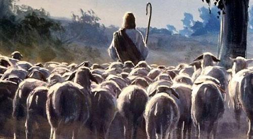 المسيح الراعي
