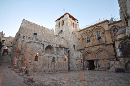 كنيسة القيامة في القدس اليوم