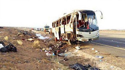 مقتل 26 مسيحيا في هجوم بالرصاص على حافلة تقل أقباط