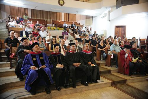 حفل تخريج الفوج الثاني من كلية الناصرة الإنجيلية