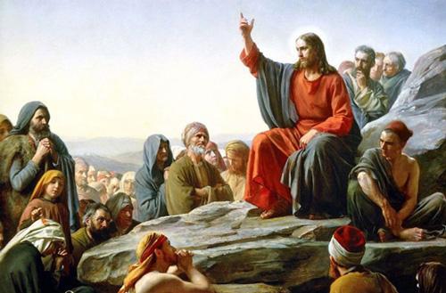 يسوع يُعلم الجموع
