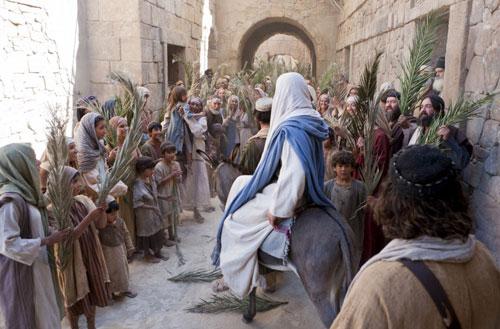 دخول يسوع الى اورشليم