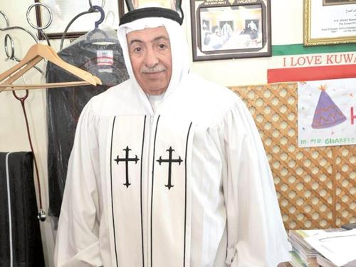 القس عمانوئيل غريب، الكويت