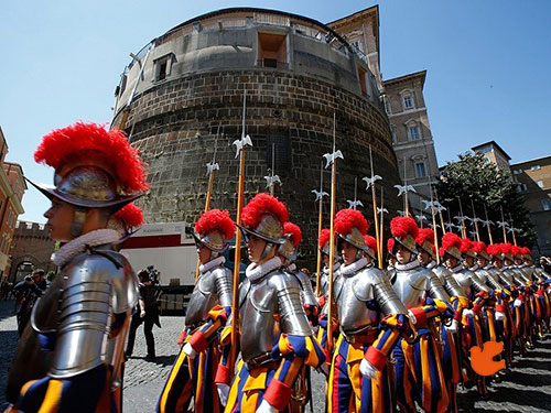 الحرس السويسري في الفاتيكان