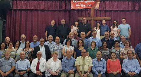 المدرسة المعمدانية في الناصرة تستضيف فطور الخدام الإحتفالي لمجمع الكنائس الإنجيلية