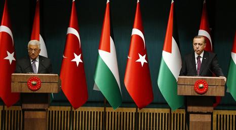 الرئيس الفلسطيني يُهنئ أردوغان بتحويل