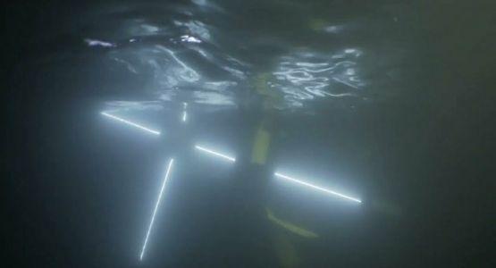 درب الصليب يقام تحت الماء في مدينة أرجنتينية
