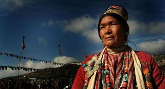 بين المعتقدات القبلية والمسيحية والبوذية تتعايش المجموعات في التبت