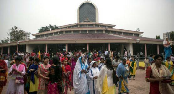 المسيحيون يحتجون على اعتبار الإسلام كدين للدولة في بنغلاديش