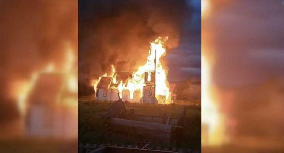 استمرار اندلاع الحرائق المتعمدة في كنائس كندا