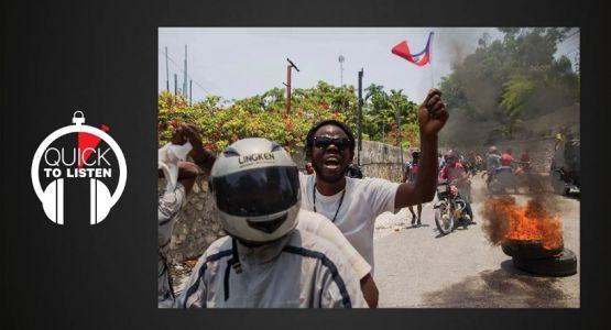 مرة أخرى المسيحيون في هايتي يواجهون الاضطرابات