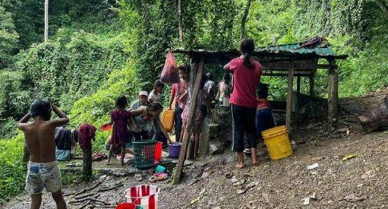 الكاثوليك الهنود يساعدون اللاجئين المسيحيين من ميانمار