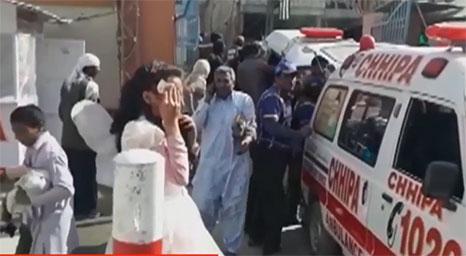 باكستان: ارهابيون يقتحمون كنيسة ويقتلون مصلين