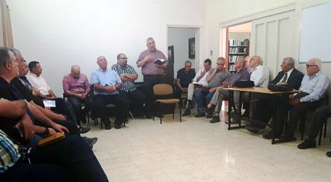 كلية الناصرة الانجيلية تستضيف خدمة فطور الخدام في مبنى الكلية