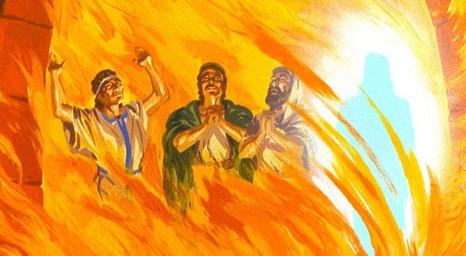 شدرخ وميشخ وعبد نغو . الفتيان الثلاثة