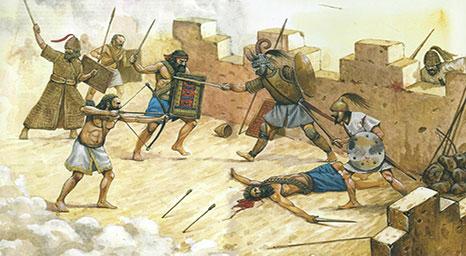 إنهاء الحرب ضد شعوب أرض كنعان