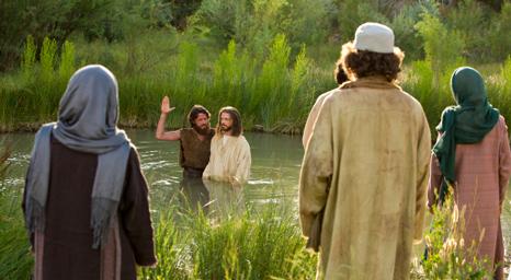 معمودية المسيح والسموات المفتوحة