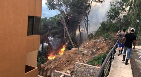 لبنان يشهد حرائق ضخمة.. وتساؤلات هل هي مفتعلة أم نتيجة الحر الشديد؟