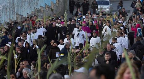 إلغاء مسيرة أحد الشعانين في القدس هذه السنة لأول مرة