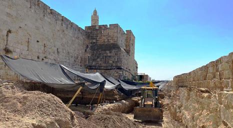 متحف برج داود: علماء الآثار يكشفون عن أجزاء من ماضي أورشليم