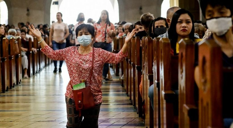 الاحتفال بمرور 500 عام على المسيحية في الفلبين