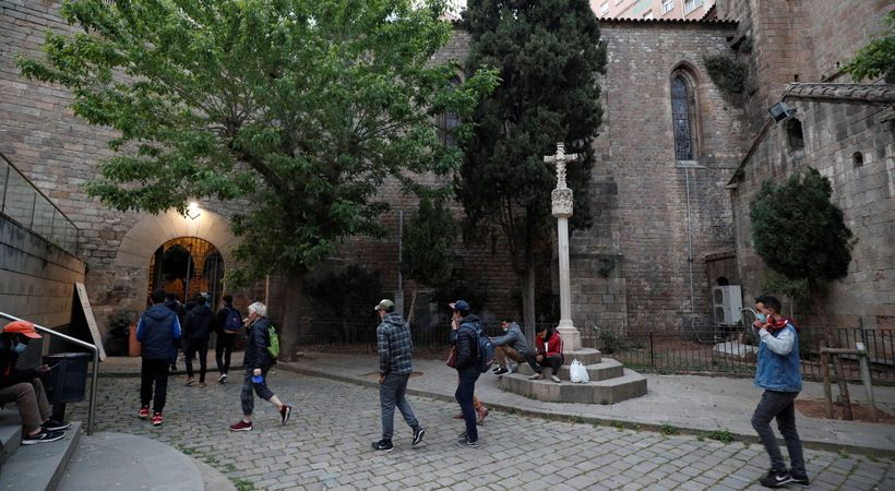برشلونة: كنيسة كاثوليكية تفتح أبوابها للمسلمين للصلاة ولتناول الإفطار