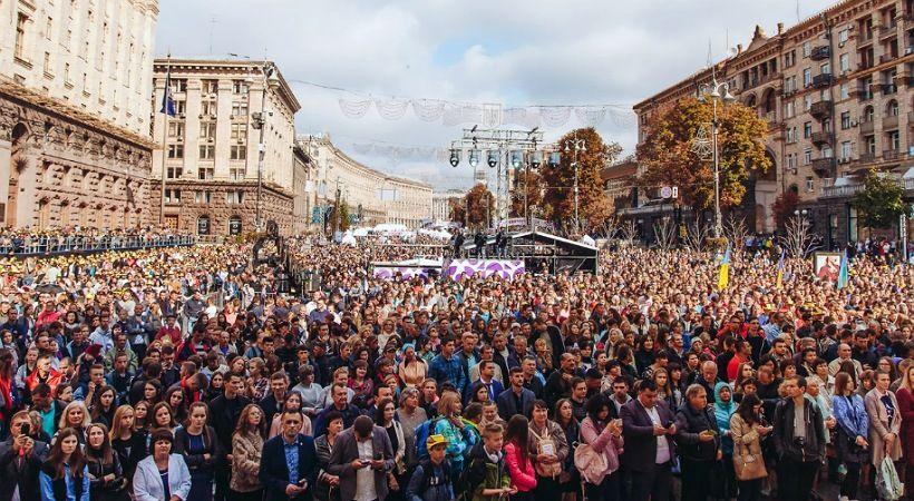 الانجيليون ينقسمون في السياسة للحفاظ على أوكرانيا محافظة