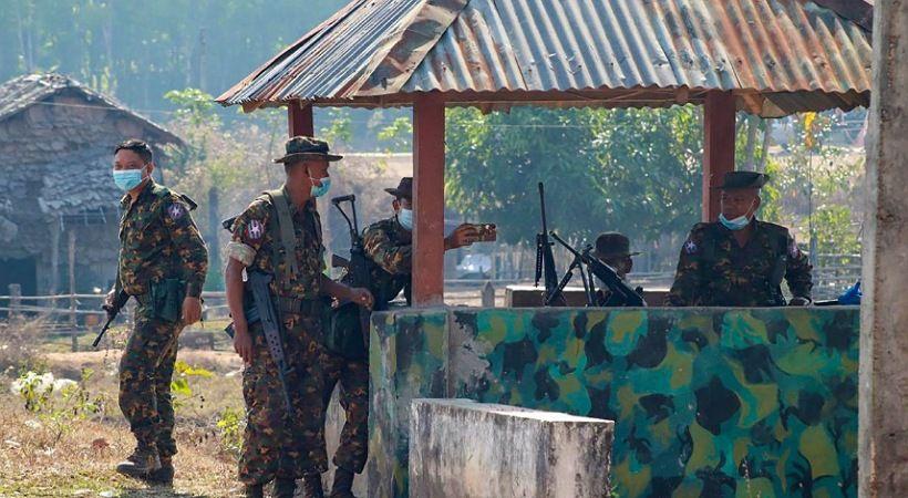 قصف كنيسة كاثوليكية في ميانمار في غارة عسكرية