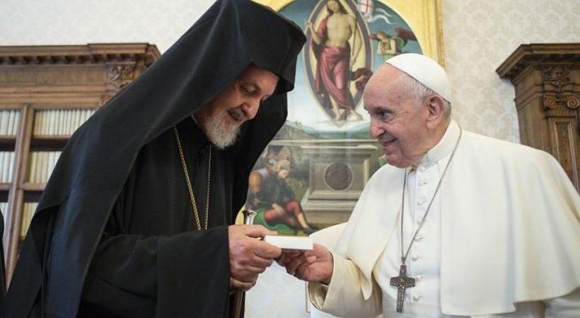 البابا فرنسيس: شفاء الانقسامات المسيحية يمكن أن يعطي الأمل للعالم
