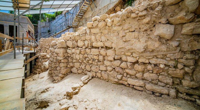 اكتشاف جدار من العصور الهيكلية الأولى كان يحمي أورشليم