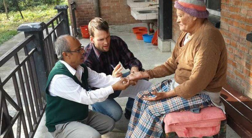 الجمعيات الخيرية المسيحية تكافح ضد الجذام في نيبال