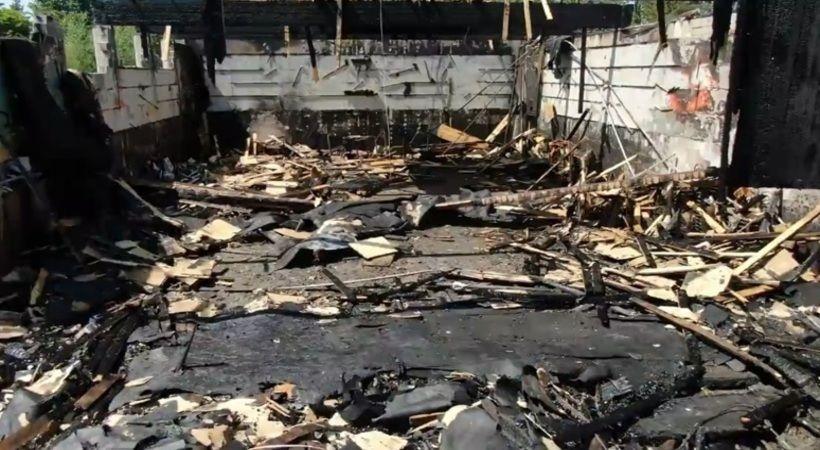 إحراق كنيسة أرثوذكسية كندية في حريق متعمد وجمع 700 ألف دولار لإعمارها