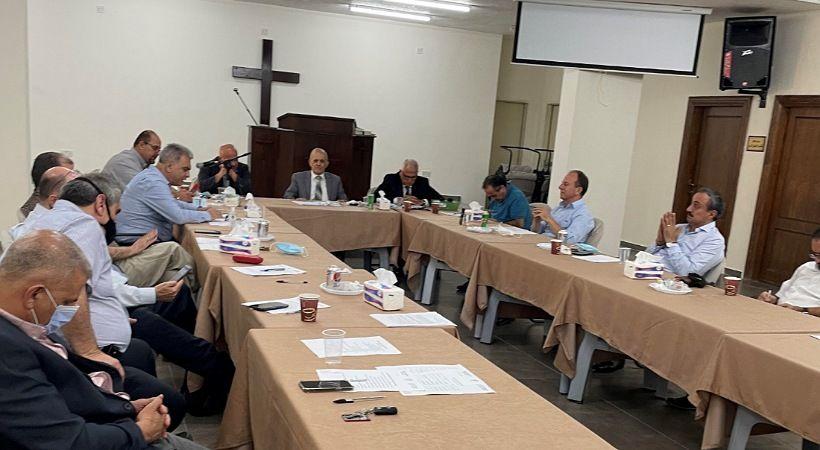 الريحاني يخلف النعمات في رئاسة المجمع الإنجيلي الأردني