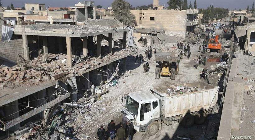 المسيحيون قلقون من الهجمات التركية في شمال شرق سوريا