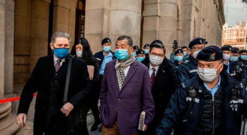 تكريم قطب الإعلام المسجون في هونغ كونغ جيمي لاي