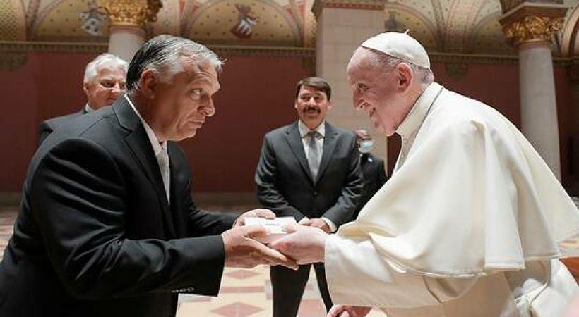 البابا فرنسيس مخاطبا رئيس وزراء هنغاريا: افتح ذراعيك للكل