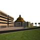 بدء عملية صب الأساسات لأكبر كنيسة في شمال الخليج العربي