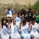 كنيسة بيت يسوع الملك تحتفل بمعمودية 12 شخصا من اعضائها