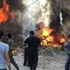 جرحى بانفجار قرب كنيسة السيدة العذراء وسط القامشلي في سوريا