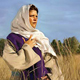 راعوث في حقل بوعز